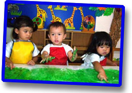 Preschool programs for children in Jakarta