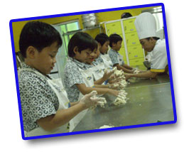 Kindergarden Kids Baking