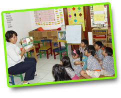 English kindergarten in Jakarta